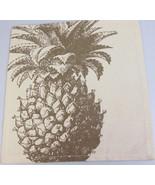 Handmade eco friendly Pineapple Napkin by Simrin  - $7.44