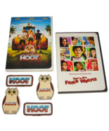 2006 HOW TO EAT FRIED WORMS & HOOT  Movie Digital PRESS KITS 2 Magnets 2... - $11.99