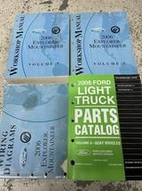 2006 Ford Explorer Mercury Montagnard Service Atelier Réparation Manuell... - $76.91