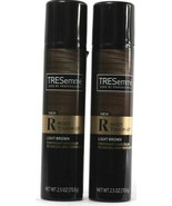 2 Count TRESemme Root Toch-Up Light Brown Temporary Hair Color Spray 2.5... - $25.99