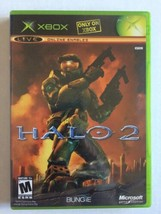 Halo 2 (Microsoft Xbox, 2004) Complete In Box With Manual Tested & Working - $8.90