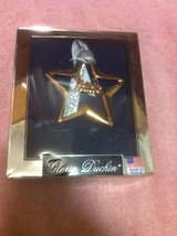 "GOLD STAR ORNAMENT--GLORIA DUCHIN--""BELIEVE""--CHRISTMAS-  --FREE SHIP---NEW - $12.33"