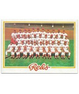 1978 Topps Cincinnati Reds Team Set - $12.15