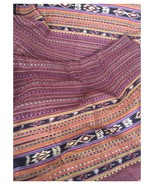 Vintage Indonesian Textile, Handwoven Flores Ikat, Sarong, Tapestry - $325.00