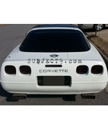 91 92 93 94 95 96 CORVETTE C4 13 piece smoked tinted tail light covers v... - $25.04