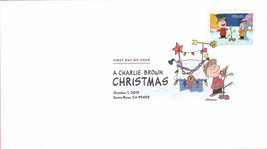 US #5021-30 2015 First-Class Issue Set Charlie Brown Snoopy Contemporary Christm image 5