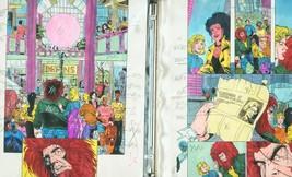 Team Titans #14-DC Color Guides Production Art - $272.81