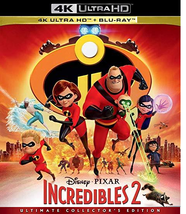 Disney Pixar Incredibles 2 [4K UHD + Blu-ray]