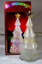 "Lenox Merry And Magical  Lit Tree Figurine 8"" IOB - $20.69"