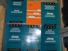 2001 Jeep Cherokee Service Repair Shop Manual Set Factory Books Oem Jeep Mopar X - $267.25