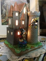 Disney Pottery Mickey & Minnie Interior Lamp Castle Table Light Lighting - $181.17