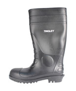 Tingley Rubber Black Economy Pvc Knee Boots Size 11 081138311817 - $31.02