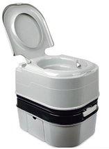 Portable Camping Toilet Portable Toilet Bowl Outdoor Lavatory 24L 25quart 2-Poin
