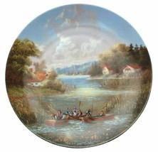 Auslauf der Fischer Christian Luckel Idyllisches Dorfleben Village Life ... - $35.86