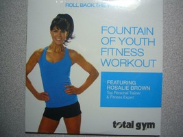 Total Gym Fountain of Youth Fitness Workout DVD with Rosalie Brown - $24.72