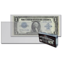 3 Packs (150) BCW Deluxe Large Bill Currency Holder - $29.58