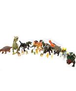20 Piece Play Dinosaur Set Big Little Dinosaurs Prehistoric T Rex More, ... - $16.70