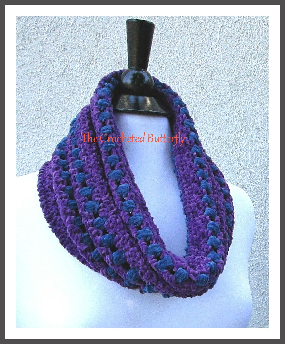 CROCHET PATTERN, Blueberry Hill Cowl, crochet pattern, scarf, ladies fashion