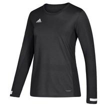 adidas Women's Black/White Team 19 Long Sleeve Jersey Small DW6890 - $28.50