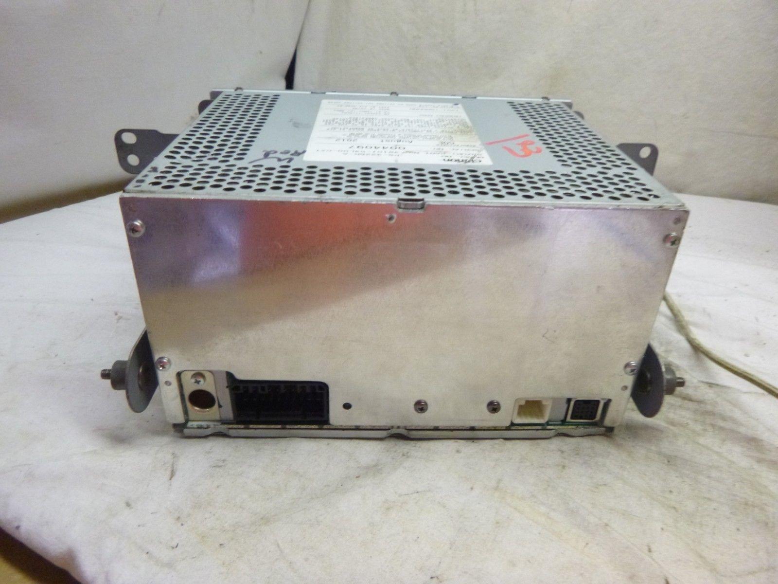 07-13  Suzuki SX4 Radio Cd MP3 Player CLCR25 39101-54L00 BLOCK B27