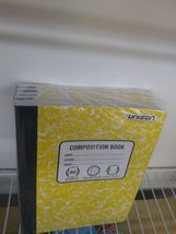 PACK OF 6 Unison Composition/Notebook 80 Sheets College Ruled- QUANTITY DISCOUNT image 7
