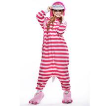 Adults' Kigurumi Pajamas Cat Onesie Pajamas Polar Fleece Pink Cosplay Fo... - $18.00