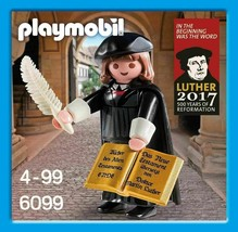 Playmobil 6099 Martin Luther 2017 - First Special Edition - $38.79