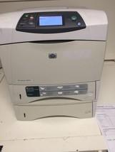 HP LASERJET 4250TN LASER PRINTER Q5402A Great condition - $182.28