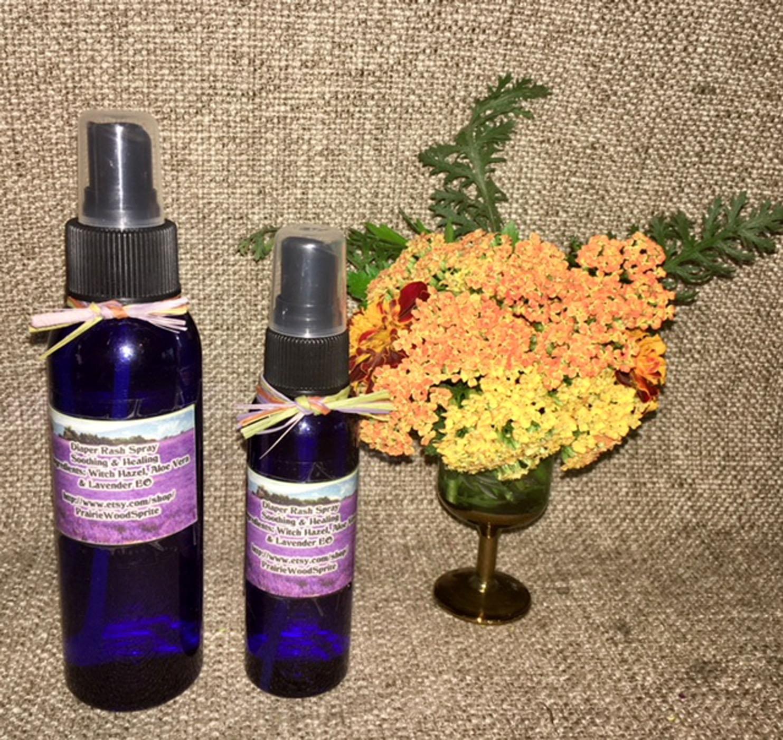 Diaper Rash Spray Formula #6, 2-4oz Cleanse Moisturize Balance pH Soothe Heal Ba