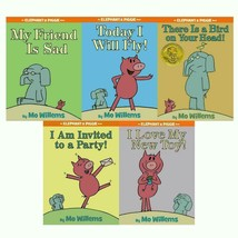 Mo Willems ELEPHANT & PIGGIE Set of HARDCOVER Books 1-5 Sad Fly Party Bi... - £35.52 GBP
