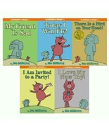 Mo Willems ELEPHANT & PIGGIE Set of HARDCOVER Books 1-5 Sad Fly Party Bi... - $48.99