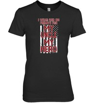 Red Fridays Military Uncle  My Hero T Shirt USA Flag - $19.99+
