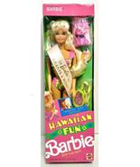 1990 Mattel Hawaiian Fun Barbie Doll 5940 Barbie Grants A Wish - $59.99