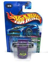 Hot Wheels 2004 First Editions Fatbax Toyota Supra 78/100 PURPLE 078 - $5.69