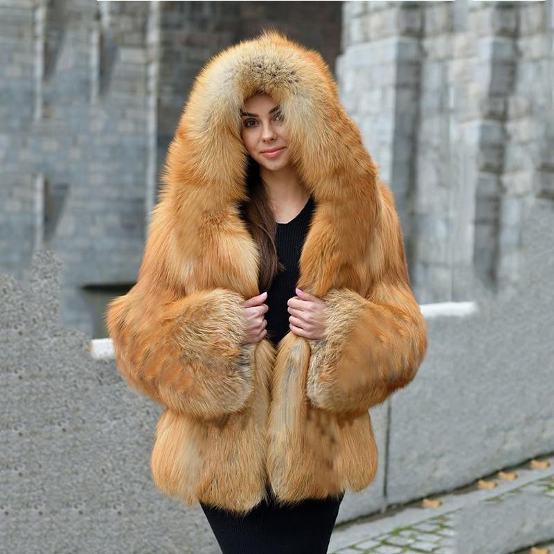 Faux fur coat women 2020 winter top fashion elegant thick warm outwear fake fur jacket with