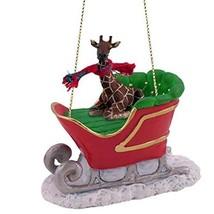 Conversation Concepts Giraffe Sleigh Ride Ornament - $19.99
