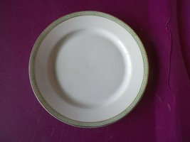 H & C bread plate (Greek Key Green) 6 available - $3.12