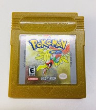Pokémon: Gold Version (Nintendo Game Boy Color, 2000) GBC Authentic Working - $19.73
