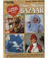 One-Skein Bazaar - Red Heart Yarns - Leisure Arts - Leaflet 2954 - SC - ... - $4.31