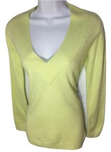 NEW vneck SIZE Large NEW YORK & COMPANY CLASSY SOFT WOMENS SWEATER SHIRT - $10.34 CAD