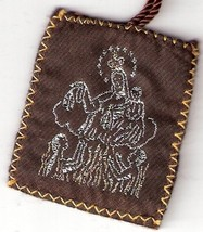 Brown Scapular of Mount Carmel - Large size - 060.0005 image 2