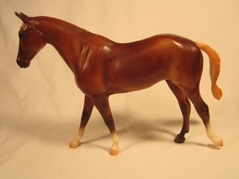 BREYER MOLDING Classic Mold #3035MT MIGHT TANGO Model 61058 Chestnut [Z2... - $12.76