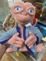 "Vintage 1990 ET Extra Terrestrial 16"" Plush Universal Studios Robe Stuffed Toy - $49.45"