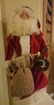 Vintage Christmas Standing Santa Claus St. Nick Table Desk Ornament Decor  - $49.50