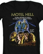 Motel Hell T Shirt retro 1980s horror movie classic 80s film graphic tee shirt image 2