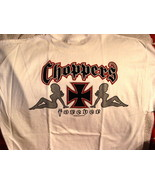 CHOPPERS FOREVER WITH 2 SEXY LADIES T-SHIRT #2 - $11.65