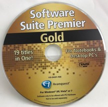 Software Suit Premier Gold:19 Titles in One! FREE SHIPPING - $12.11