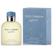 Light Blue by Dolce & Gabbana for Men - 4.2 oz EDT Spray Opened Box - $44.97