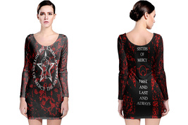 long sleeve bodycon dress sisters of mercy - $24.99+