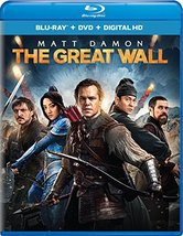 The Great Wall [2017, Blu-ray/DVD]